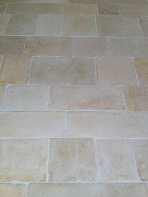 Bourgondische dallen vloer